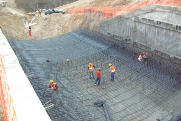 Realizzazione di gallerie artificiali cantiere Vibo Valentia